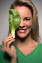 bok choy head shot